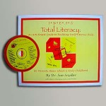 Total Literacy Early Childhood book with the CD