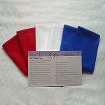 "Patriotic Holiday 36"" Scarf Kit"