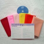 Warm Mini Scarf Kit with CD
