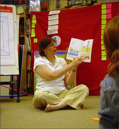 Master teacher Sue Snyder sm